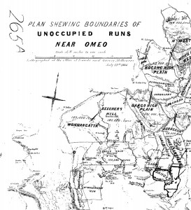Unoccupied Runs 1866
